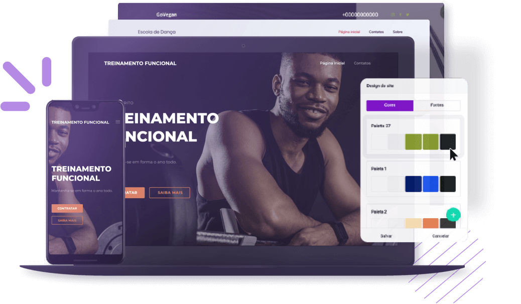 criador de sites kinghost